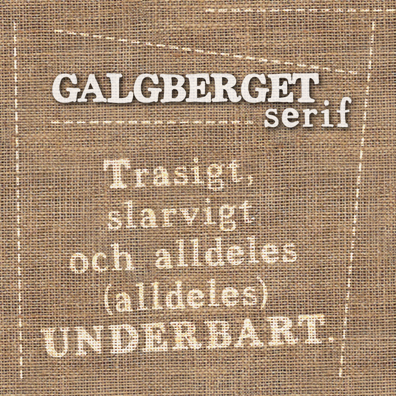 Galgberget serif